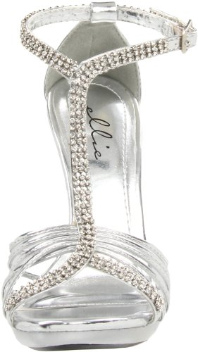 Women's Sandal Majestic 431 Silver Shoes Ellie 08qw5Pnx