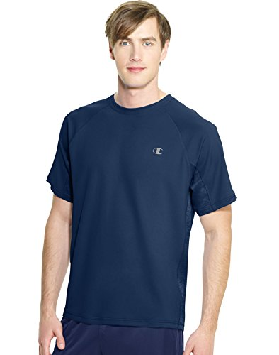 Champion Men's Powertrain Performance T-Shirt, Navy, X-Large