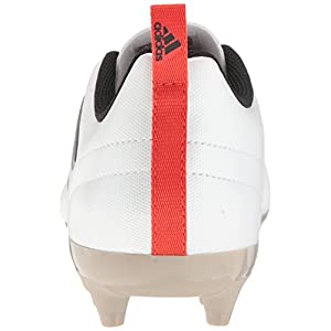 adidas Performance Women's Ace 17.4 FG W Soccer Shoe, White/Black/Core Red S, 7.5 M US