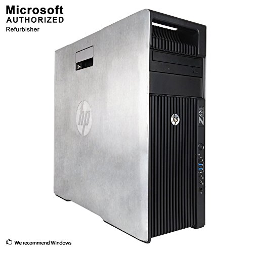 HP Workstation Computer PC, Intel Quad Xeon E5-2643 up to 3.5GHz, 16G DDR3, 512G SSD + 2T HDD, GTX 1650 4G Video Card…