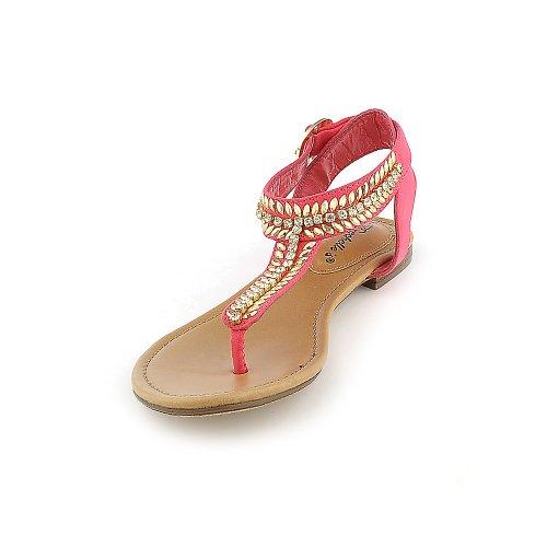 Breckelles Dames Stacy-43 Sandaal Roze