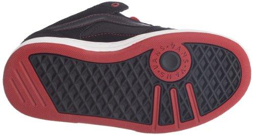 Vans Baxter VMAX6II Jungen Sneaker Schwarz (black/cherry/chili pepper)