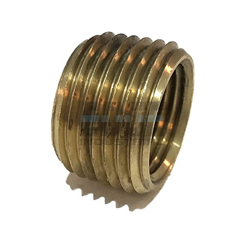 EDGE INDUSTRIAL BRASS REDUCING FACE BUSHING 1/2