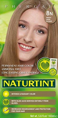 Naturtint Permanent Hair Colorant, 8n Wheat Germ Blonde - 5.6 Fl Oz (6-pack)