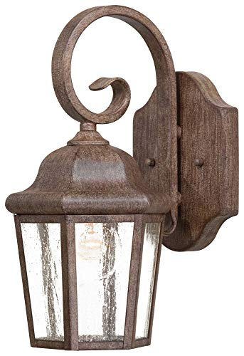 - Minka Lavery Minka 8611-A61 Traditional One Light Wall Mount from Taylor Court collection in Bronze/Darkfinish 1 Outdoor, Upc-747396080031