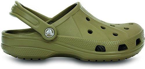 Crocs Unisex-Adult Feat Back Strap Sandal Khaki