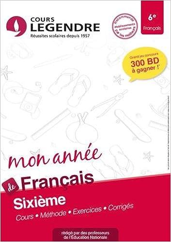 Amazon Fr Francais 6e Cahier De Vacances 6eme Aurelie
