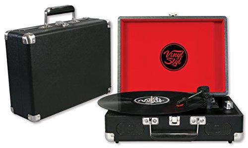 Vinyl Styl Groove Portable Turntable (Black)