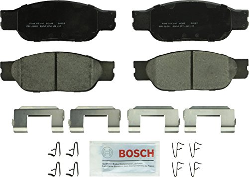 Bosch BC805 QuietCast Premium Ceramic Disc Brake Pad Set For 2002-2005 Ford Thunderbird; 2000-2004 Jaguar S-Type; 2000-2006 Lincoln LS; Front