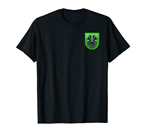(10th Special Forces Group Airborne Patch Military T-Shirt)