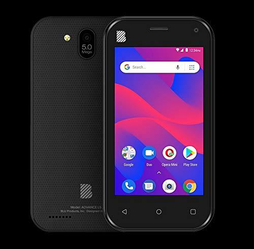 BLU Advance L5 -Unlocked Dual Sim, 16GB -Black