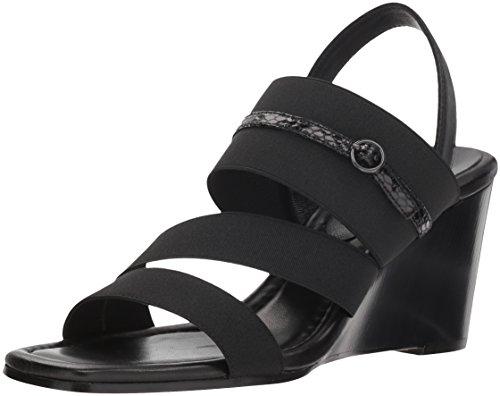 Donald J Pliner Women's Leigh Sandal Black 11 M US ()
