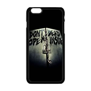Happy Don't Dead Open Inside Scary Pattern Brand New And Custom Hard Case Cover Protector For Iphone 6 Plus by kobestar