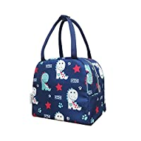 HOMILA Lunch Bag for Kids Insulated Lunch Box,Dinosaur pattern