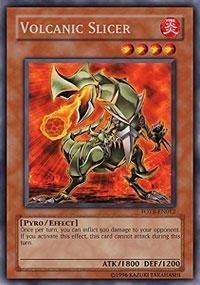 yugioh card volcanic slicer - 6