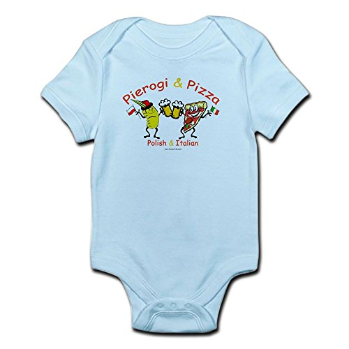 talian Infant Creeper - Cute Infant Bodysuit Baby Romper (Polish Italian)