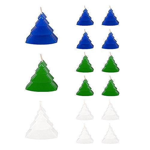 - Candle Atelier 'Mini Christmas Trees' (Blue/Green/White) 2.2