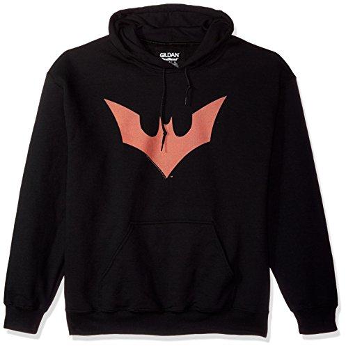 Trevco Men's Batman Beyond Bat Logo Hoodie Sweatshirt at Gotham City Store
