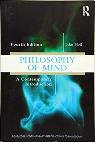 Amazon Com Philosophy Of Mind A Contemporary Introduction Routledge Contemporary Introductions To Philosophy 9781138581012 Heil John Books