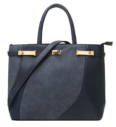 Mano Azul Handbags Mujer Girly De Bolso Onat6nPv