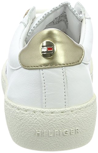 Basses Femme Tommy 2a4 Hilfiger white Blanc S1285uzie Sneakers IqvXxZ