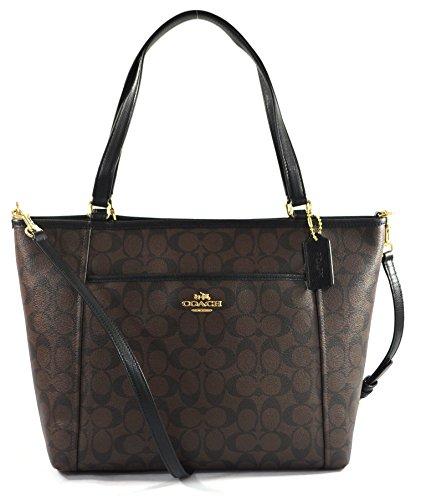 Coach Signature Pocket Crossbody Handbag