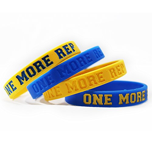 Livestrong Rubber Bracelets (Inspirational Silicone Wristbands Rubber Band Bracelets, Custom Embossed with Saying