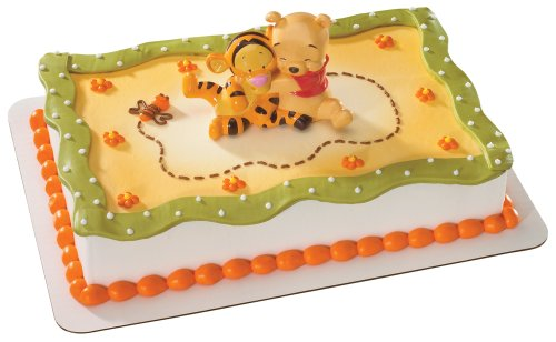 Decopac Winnie The Pooh Baby with Tigger Hugging Decoset, Health Care Stuffs