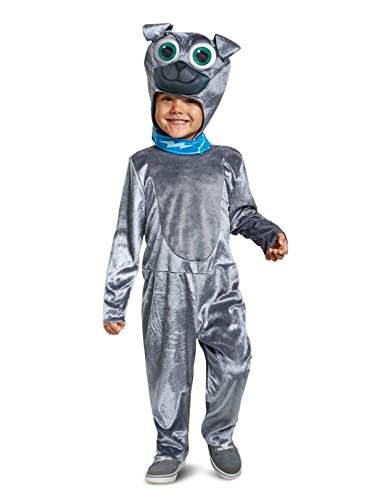 Disguise Bingo Classic Toddler Child Costume, Gray, Medium/(3T-4T) -