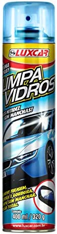 Limpa Vidros Spray Luxcar 400 Ml