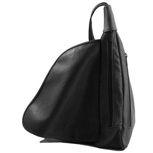 Tuscany Al Piel Negro Hombro Para Leather Cerdo Mujer De Bolso 4q7Tw4