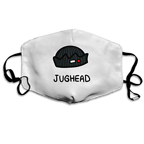 Rolvsx Jughead Jones - Riverdale Inspired Unisex Mouth-Muffle Original Mask Dust-Proof Anti-Haze Earloop Face Mask