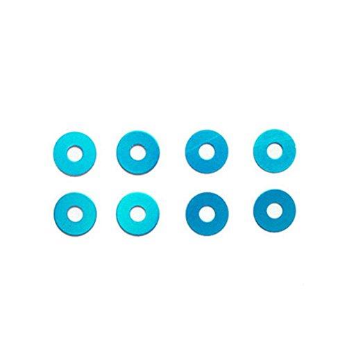 Tamiya 53646 Wheel Spacers (Blue)