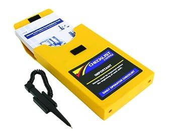 IRONguard 70-1074 Checklist Caddy for Aerial Work Platform