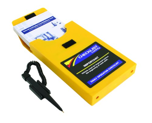Checklist Caddy for Electric Counterbalance