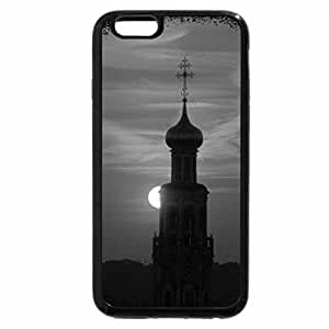 iPhone 6S Case, iPhone 6 Case (Black & White) - Moscow Skyline