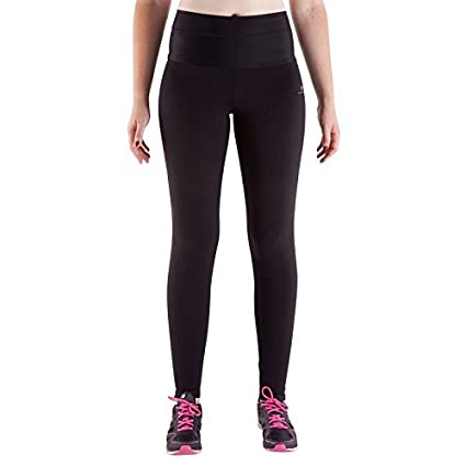 efdc873032769 Buy Domyos Black Leggings Size - M-L Online at Low Prices in India ...