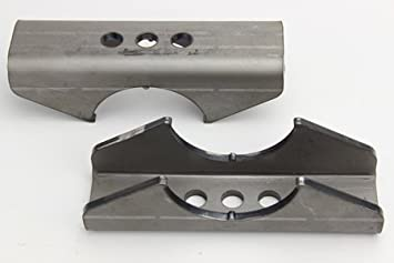 Ruffstuff Specialties Universal Leaf Spring Perch Pads for Axle Housing 2.25 Wide Spring 3.25 Tube