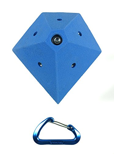 Mini Volumes #4 Diamond | Climbing Holds | Blue by Atomik Climbing Holds