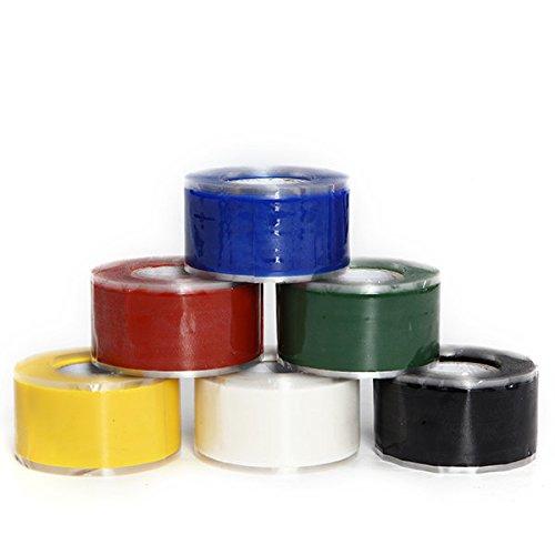 Waterproof Pipe Tape - Waterproof Tape For Pipes - KC-YS8018 Gardening Universal Tape Useful Waterproof Silicone Hose Pipe Wire Repair Tape - Red ( Waterproof Hose Tape ) by Unknown (Image #3)