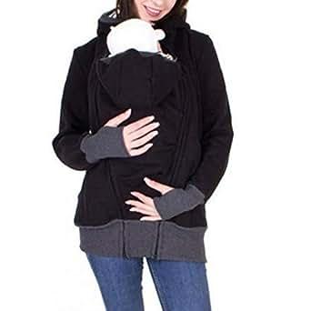 Amazon.com: Baby Carrier Kangaroo Jacket Hooded Winter