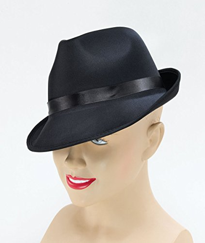 Black Adults Madness Fedora Hat