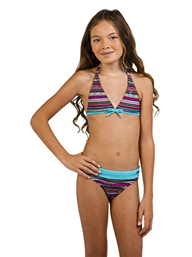 Protest Iris Jr Bikini Halter Iris Jr, marrón, 11-12 Años marrón
