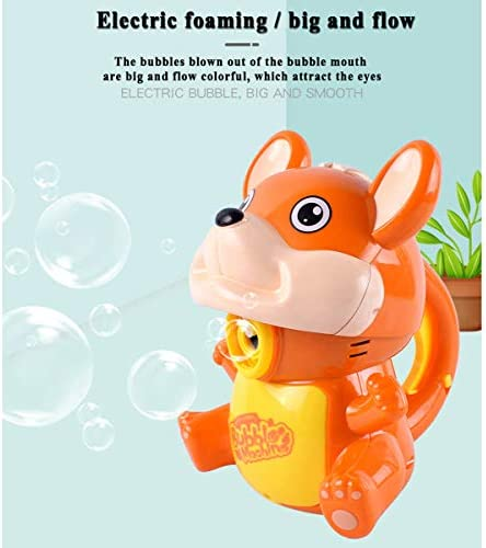 oenbopo キッズ バブルマシン 電動バブルメーカー 漫画 マウス バブル ブロワー 音楽ライト 効果 キッズ 幼児 男の子 女の子