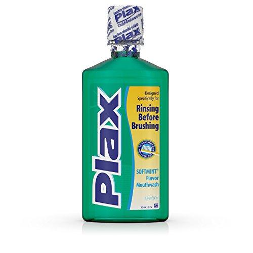 - Plax Dental Rinse Soft Mint - 16 oz, Pack of 3