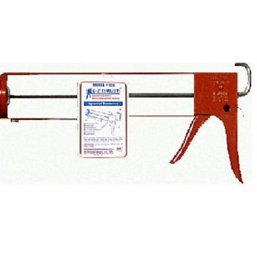 Newborn 125 Smooth Hex Rod Parallel Frame Caulking Gun, 1/4 Gallon Cartridge, 10:1 Thrust Ratio