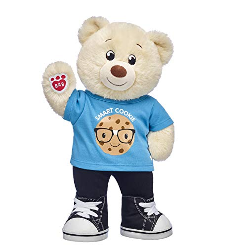 Build A Bear Workshop Online Exclusive Lil' Cub Pudding Smart Cookie Teddy Bear Gift Set, 15 inches]()