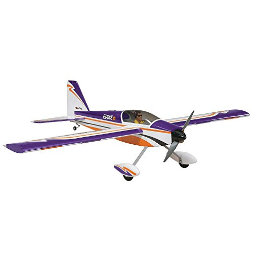 Great Planes Escapade MX Radio Controlled Glow or Electric Powered 52 Inch Almost Ready-to-Fly Sport (Radio Control Electric Airplane)