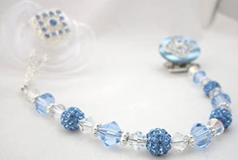 Crystal Dream lujo azul Cristales de Swarovski y Pearl cuentas traje ...