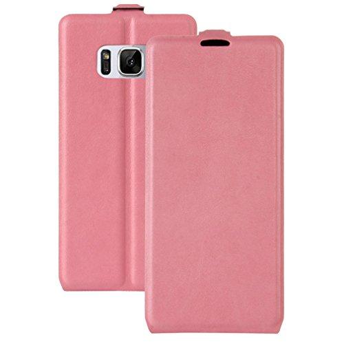 GY-honeq Cover Plegable Funda para Samsung S8 Galaxy S8 Carcasa,Estuche Flip Case Funda móvil Plegable móvil en Cuero sintético,(S8-440-Rosa): Amazon.es: ...